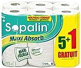Sopalin Essuie-Tout 5+1 Maxi Absorb Rouleaux = 12 Rouleaux
