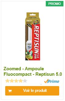 Ampoule RVB 5.0 fluocompacte reptisun
