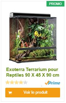 Exoterra Terrarium pour Reptiles 90 X 45 X 90 cm