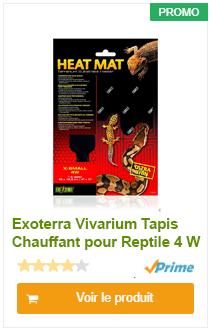 Tapis Chauffant pour Reptile 4W Vivarium Exoterra