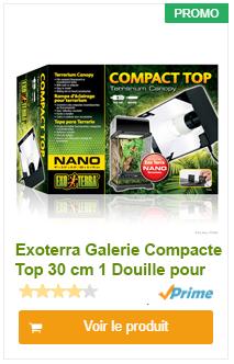Rampe eclairage compacte Exoterra
