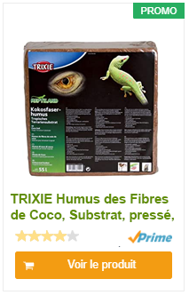 TRIXIE Humus des Fibres de Coco, Substrat, pressé, Produit 60 l - Aucun additif de fertilisant