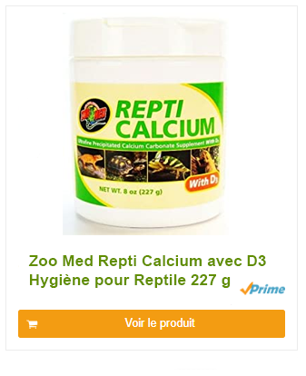 Zoo Med Repti Calcium avec D3 Hygiène pour Reptile 227 g